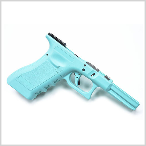 가더 New Generation Frame Complete Set for MARUI G17/22/34 (U.S. Ver./Robin Egg Blue) 가더 풀 스틸 프레임