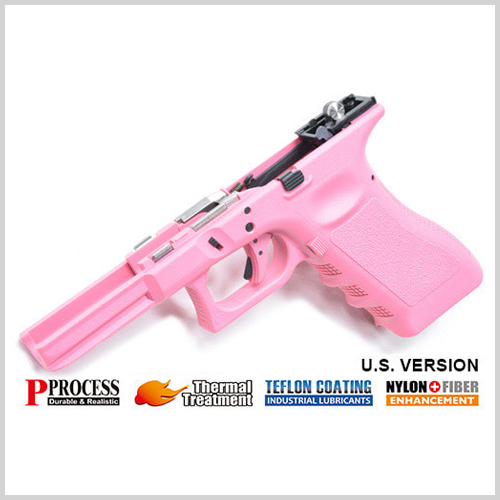 가더 New Generation Frame Complete Set for MARUI G17/22/34 (U.S. Ver./Pink) 가더 풀스틸 프레임