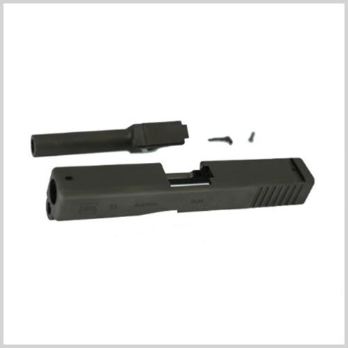 NOVA CNC Steel Slide Kit for Marui GLOCK19 GEN 3 (BK)