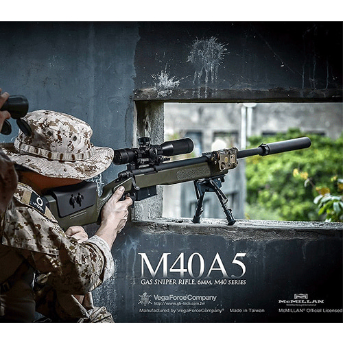 VFC M40A5 Gas Sniper Rifle (STD / Limited Version) - 스나이퍼