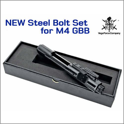 [2018] Steel Bolt Set for M4 / MK18 / MK12..GBB [ 강철 케리어]