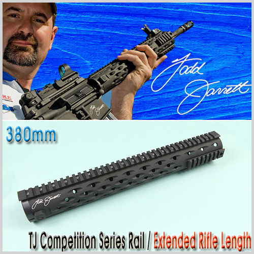 TJ Competition Series Rail / Extended Rifle Length 380mm