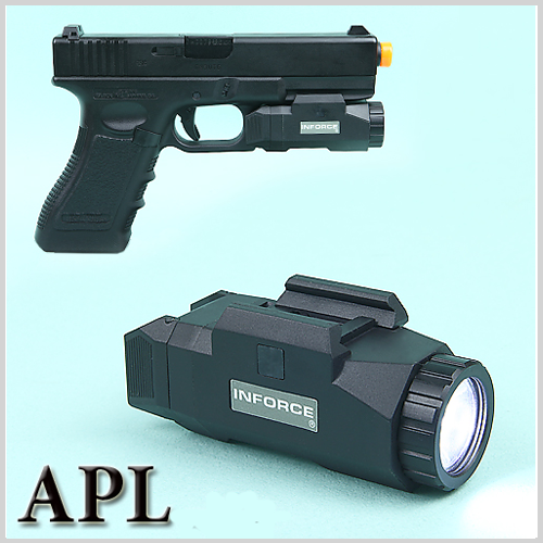 INFORCE Auto Pistol Light 핸드건 라이트 (BK,TAN)