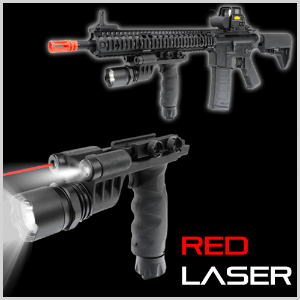 Battlegrip Laser Flashlight Combo / 레이저 수직그립 Red&Green