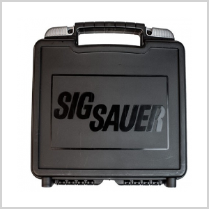 Sig Sauer Factory Replacement Pistol Case Polymer Black (시그 실물 케이스)