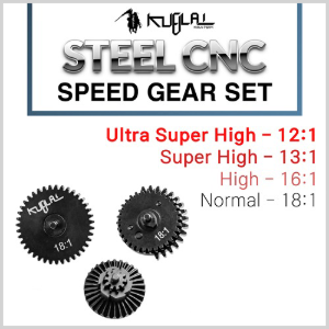 Steel CNC Speed Gear Set / 4 Type - 기어세트