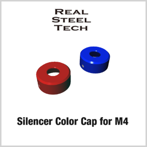 RST Silencer Color Cap for M4