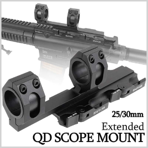 QD MOUNT 25MM~30MM (AUTOLOCK) 스코프 마운트
