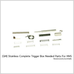[GM] Stainless Complete Trigger Box Needed Parts For MWS