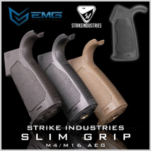 "EMG / STRIKE INDUSTRIES ""MILSIM"" Enhanced Slim Motor Grip / AEG M4"